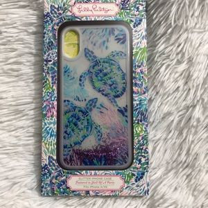 New Lilly Pulitzer Glitter IPhone X/XS Case